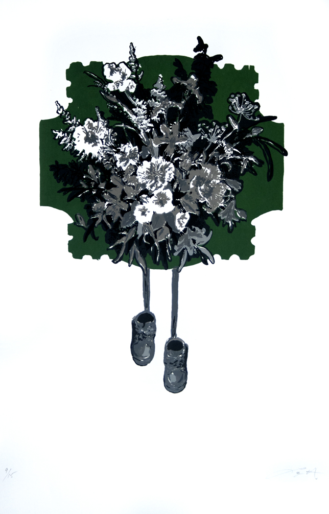 Bouquet Dark Green Logan HIll