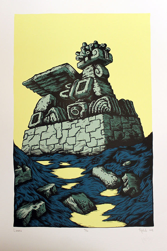 """Lamassu"" by Matt Rebholz. Edition of 46."