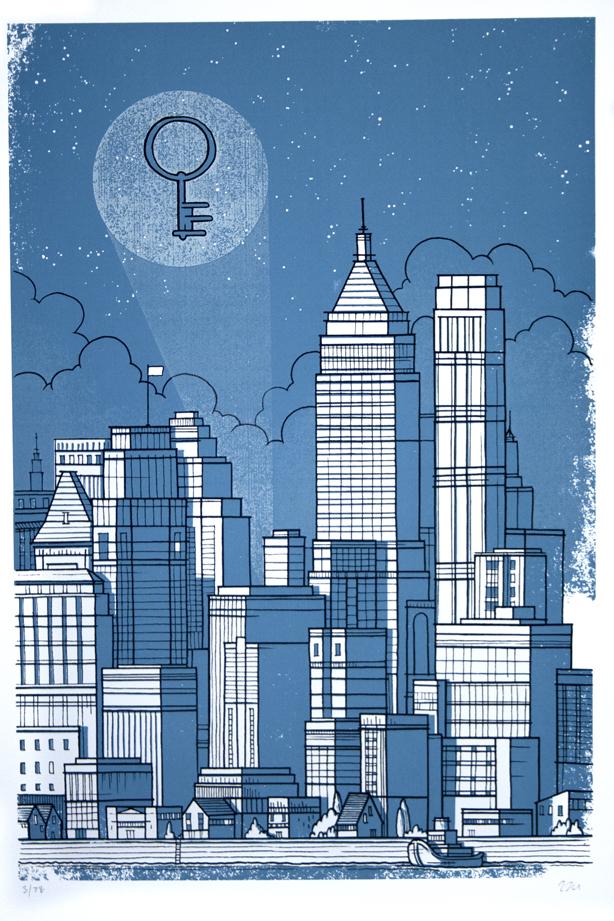Blue city Luke Drodz