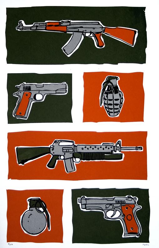 45. guns