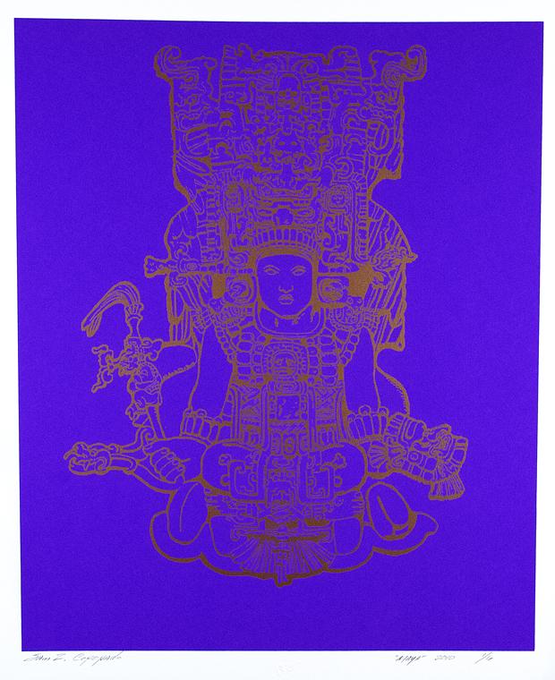 Blue Mayan Sam Coronado