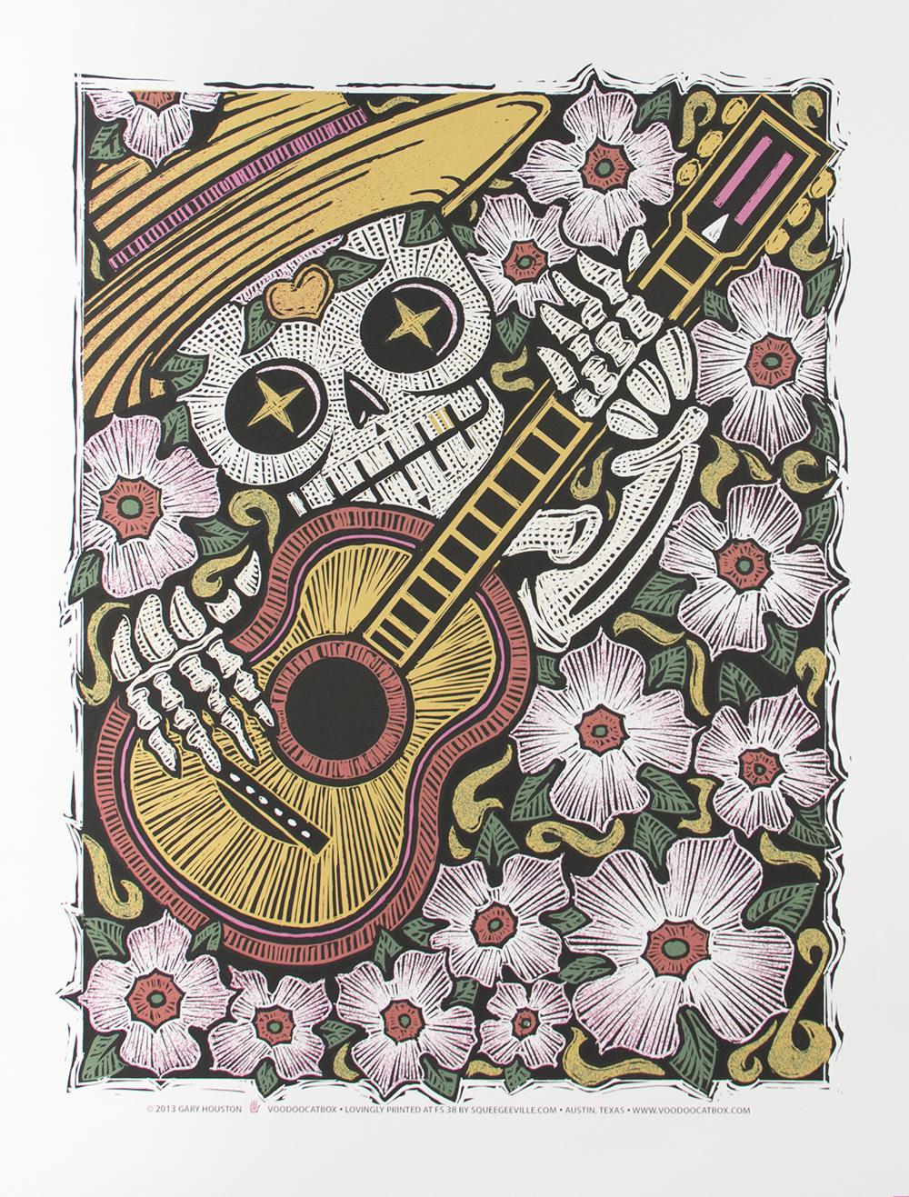 Calavera Guitarist Gary Houston