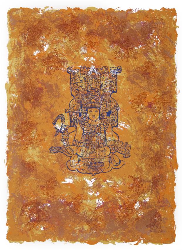 Mayan Deiety Sam Coronado
