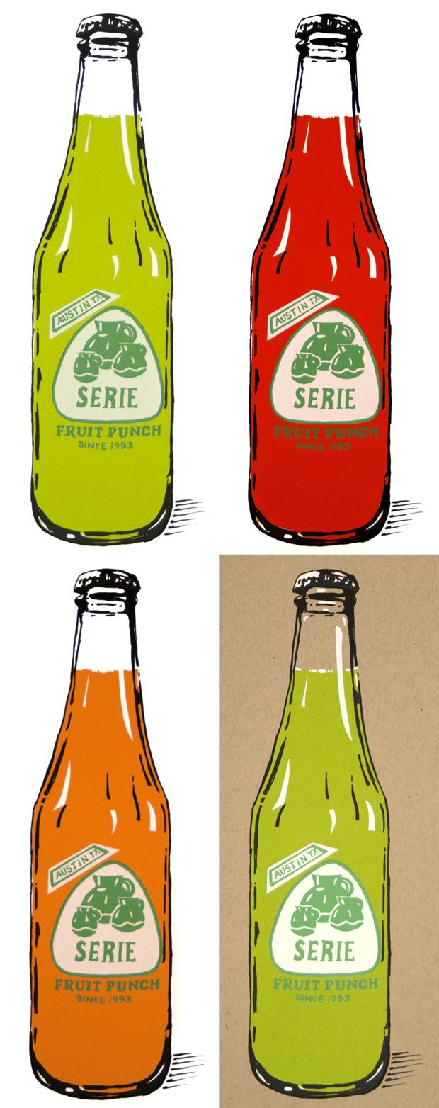 Serie Bottles